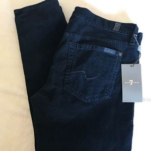 7 For All Mankind Gwenevere Skinny Corduroy